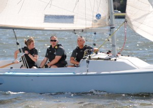 Sailing in the IFDS International Championships
