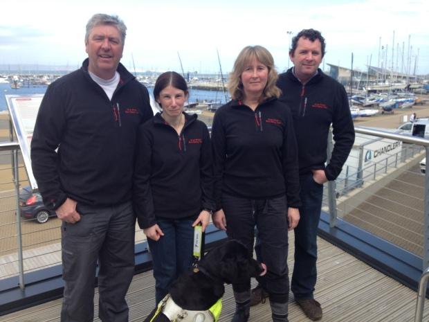 B1 Blind GP team; Vicki Sheen from Brixham Torbay, Sharon Grennan from Greenwich London, Ian Shearer from Cambria, Martin Moody from Southampton.